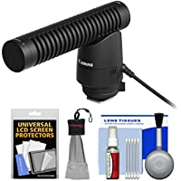 Canon DM-E1 Directional Stereo Microphone with Microfiber Cloth + Cleaning Kit
