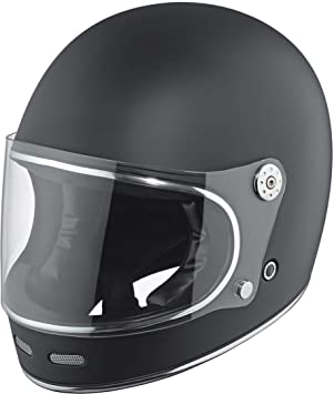 Motorcycle Held 7821 Root - Casco de moto, color negro mate