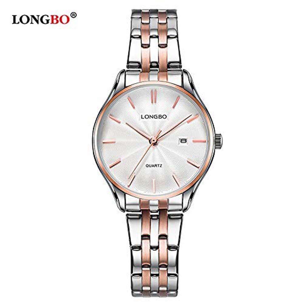 Watches Reloj De Longbo Cuarzo Hermosa 5026 Hombres Correa YH2IWDE9