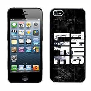 Tupac Shakur 2pac cas adapte iphone 5 couverture coque rigide de protection (2) case pour la apple i phone hip hop by icecream design