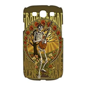 Mystic Zone Fantastic Band Grateful Dead Case for Samsung Galaxy S3 Hard Cover Fits Case HH0921