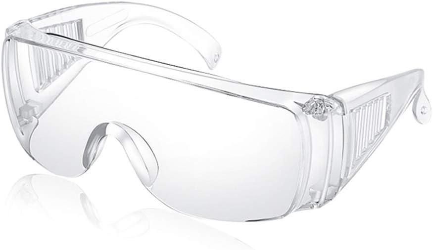 MZY1188 Gafas de Seguridad, Gafas de protección UV, Gafas Transparentes a Prueba de Polvo, Gafas de Trabajo, Gafas Protectoras contra Salpicaduras Protectoras contra el Viento