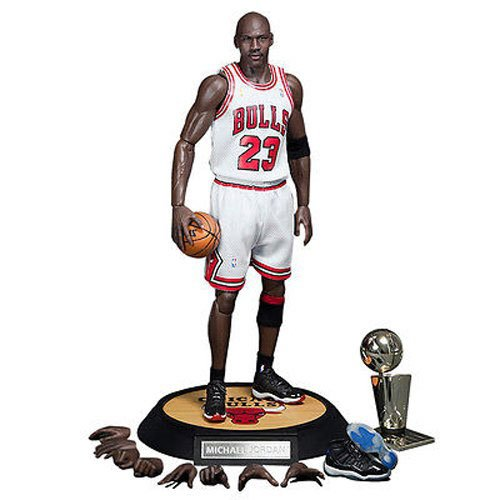 Enterbay #23 Home Uniform Version Michael Jordan Real Masterpiece Action Figure