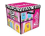 Toys : Barbie ZipBin 40 Doll Dream House Toy Box & Playmat
