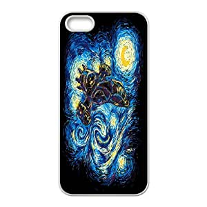 Cell Phone case Vincent Van Gogh Starry Night Cover Custom Case For iPhone 5, 5S MK8Q903169