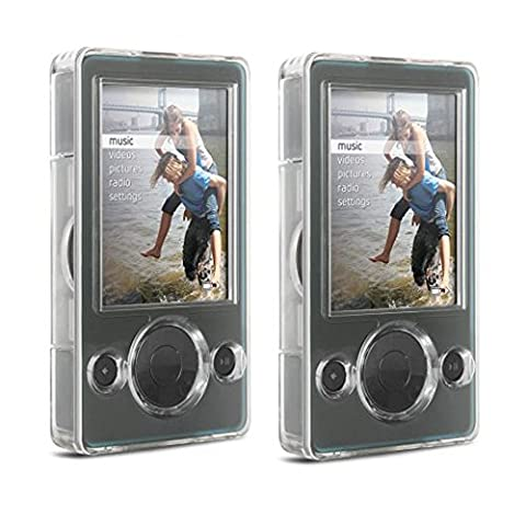 DLO 54003-17 Clear Hard Shell Case for 30GB Zune MP3 Player - Buy One, Get One Free (Zune 30gb Player)