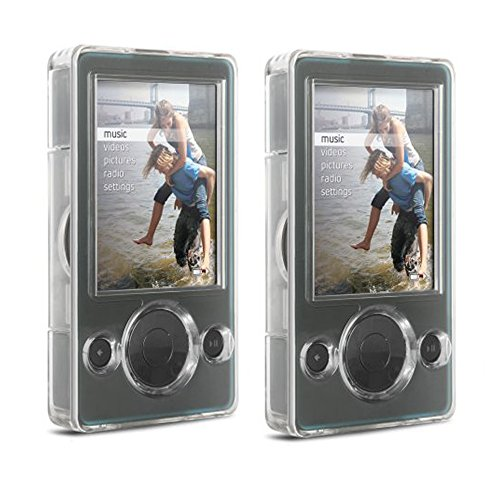 Dlo Digital Player Case - DLO 54003-17 Clear Hard Shell Case for 30GB Zune MP3 Player - Buy One, Get One Free