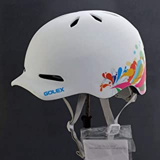 Cobnhdu Casque pour Hommes et Femmes Casque d'équitation Technologie de Moulage intégrée Casque Vélo Casque d'équitation Route Vélo de Montagne Hommes et Femmes Personnalité Conception Casque de vélo