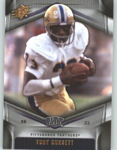 2012 Upper Deck SPx Football Card #47 Tony Dorsett - Pittsburgh Panthers - Dallas Cowboys - NFL - NCAA Legend