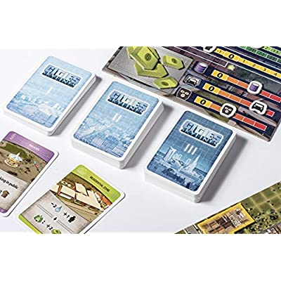 Cities: Skylines - Cooperative City-Building Board Game from Kosmos   Based On The Hit Video Game   for 1-4 Players Ages 10+   Develop & Manage Cities & Neighborhoods: Toys & Games