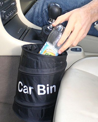 PRIMI tragbar faltbar schwarz Auto-Abfalleimer POP UP Trash Katzenstreu Ablaufgarnitur wasserabweisend Tasche