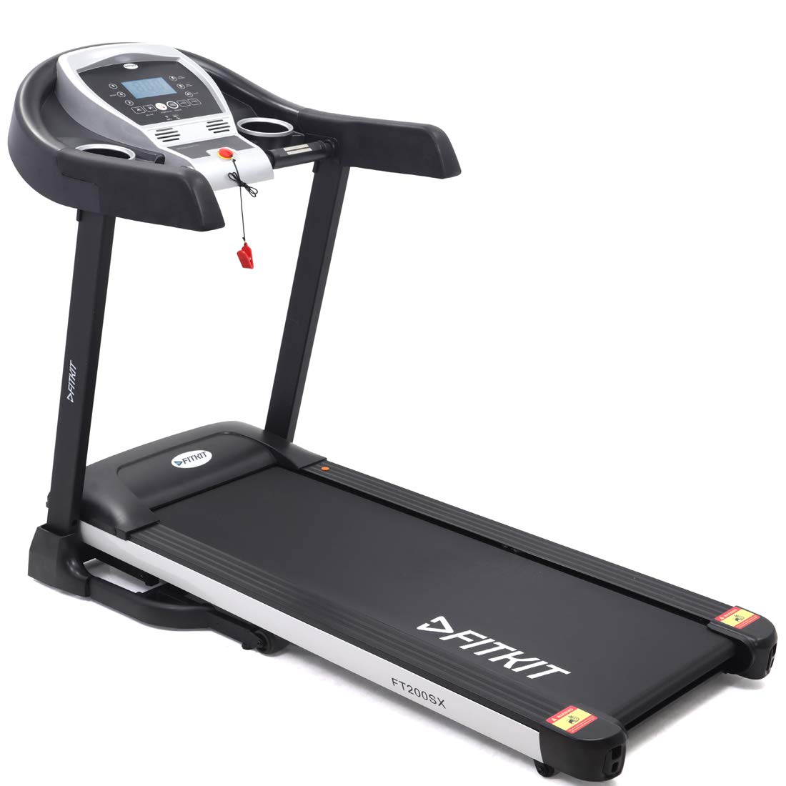 Fitkit 2.25HP (4.5HP Peak) Motorized Treadmill with Free Diet & Fitness Plan