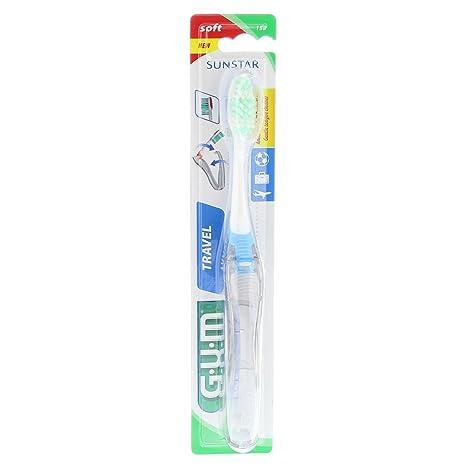 GUM - Cepillo de dientes de viaje, 1unidad