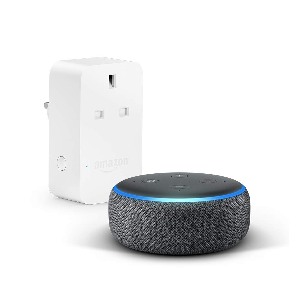 Echo Dot 3rd Gen + Amazon Smart Plug Bundle