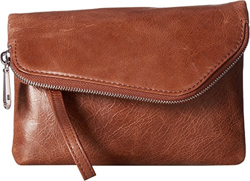 [Hobo Womens Leather Daria Crossbody Handbag (Cafe)] (Hobo Purse)