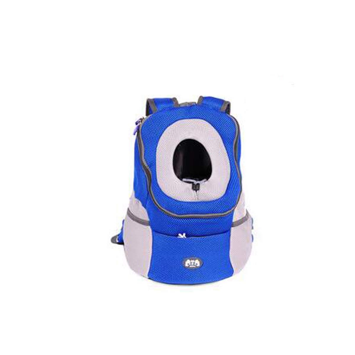 Guyuexuan Zaino per animali domestici, borsa da viaggio con animali animali animali da compagnia, robusta borsa resistente all'usura e ventilata per cani, gatti, piccoli animali domestici, nero, blu, verde, arancione f36fbf