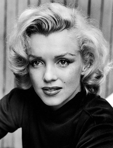 Marilyn monroe black white vintage reproduction a4 poster print 260gsm photo paper