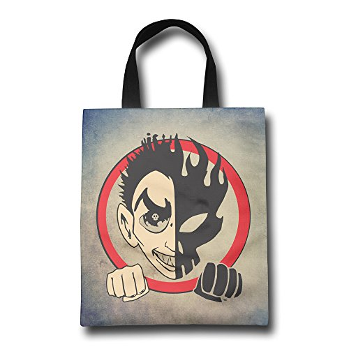 - DCM500 Canvas Shopping Bags Print Front Love The Songs Retail Handbag Totes For Women & Men.One Size ColorKey
