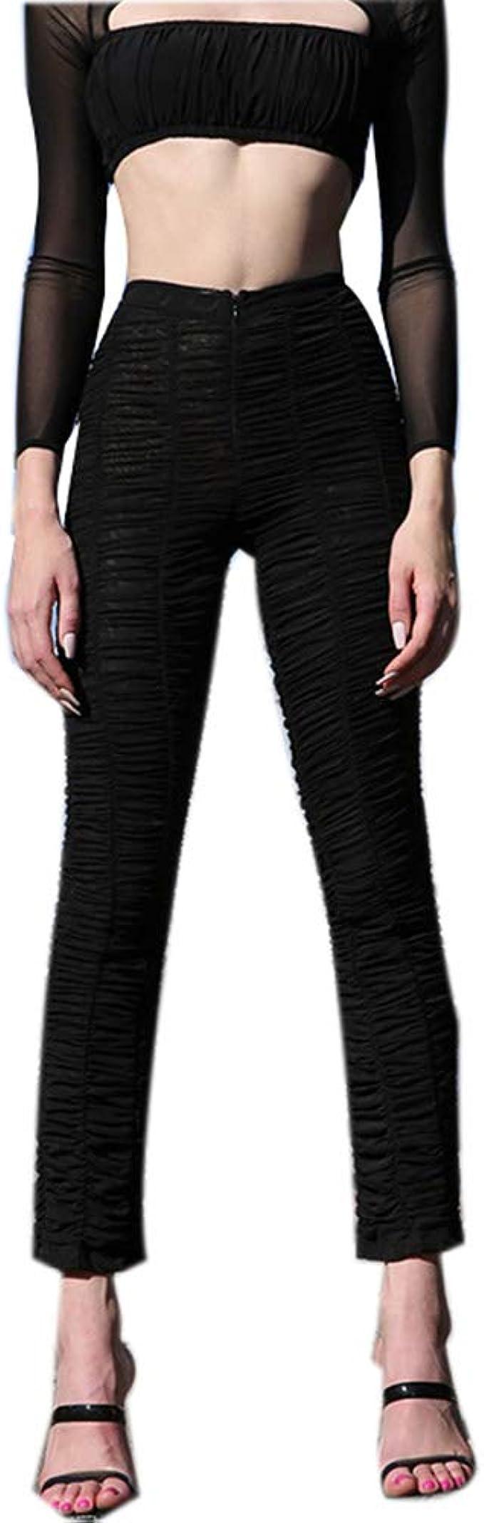 Sijux Pantalones de Mujer Pantalones Deportivos de Cintura