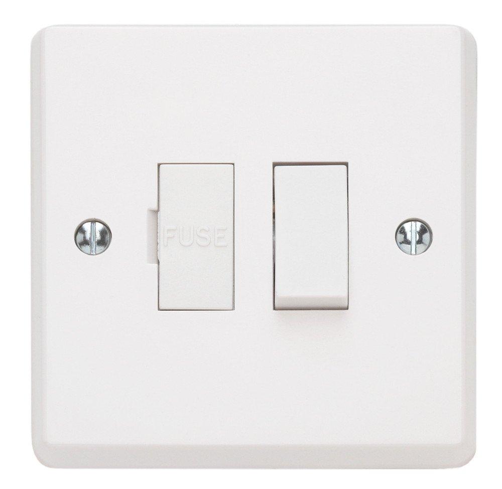 Contactum X2368 Switched DP 13A Connection Unit Flex - 1 Pack X2368-1PACK
