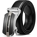 BOSTANTEN Belts for Men Ratchet Dress Belt with Automatic Buckle