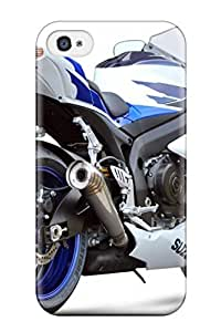 KlSioFF4095xkytX Case Cover Protector For Iphone 4/4s Suzuki Motorcycle Case