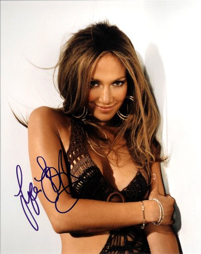 Actress Film (Jennifer Lopez Sexy Musical & Film Actress Signed Autographed 8 X 10 Reprint Photo - Mint Condition)