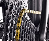 KMC X12-TI Nitride Gold Chain Gold, 12 Speed, 126
