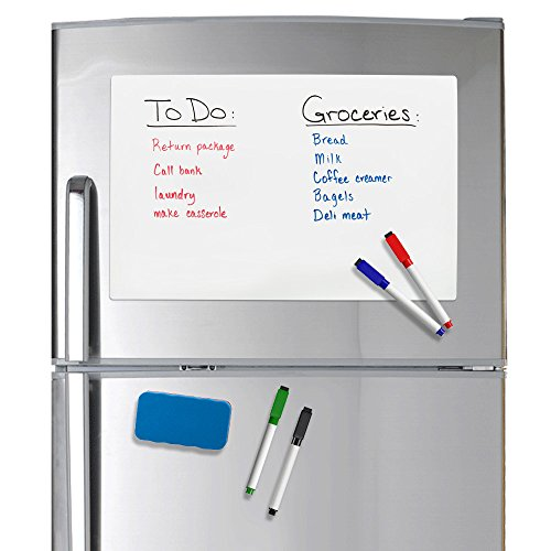 Refridge Reminder Magnetic Dry Erase Whiteboard 17