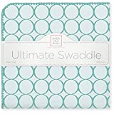 SwaddleDesigns-Ultimate-Swaddle-Blanket-Made-in-USA-Premium-Cotton-Flannel-Turquoise-Jewel-Tone-Mod-Circles