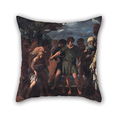 - Artistdecor The Oil Painting Raffaellino Bottalla - Joseph Sold By His Brothers Pillow Covers Of ,20 X 20 Inches / 50 By 50 Cm Decoration,Gift For Relatives,Festival,Gf,Teens Boys,Couples,Shop (Each