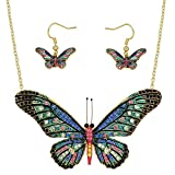 Best Bling Jewelry Aunt Ever Gifts - Lola Bella Gifts Crystal Butterfly Necklace and Earrings Review