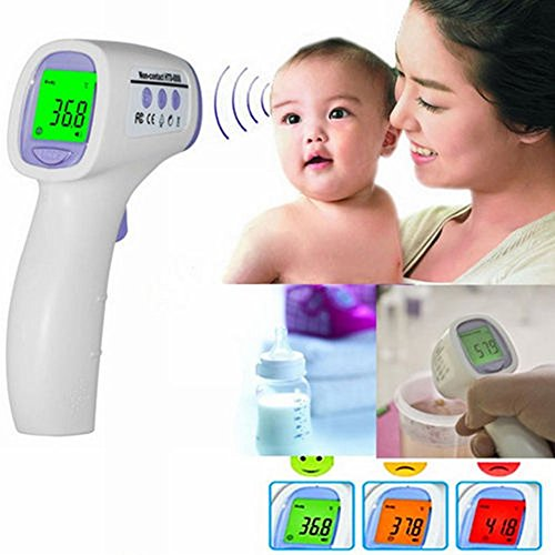 Instant Digital Non-contact Body Skin Infrared Ir Digital Thermometer for Baby Kids Adult Gocg