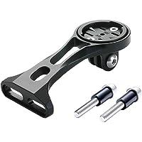 Icreopro Garmin Mount, Multifunctionele Out Front Bike Mount, compatibel met Garmin Edge 200 500 510 520 800 810 820…