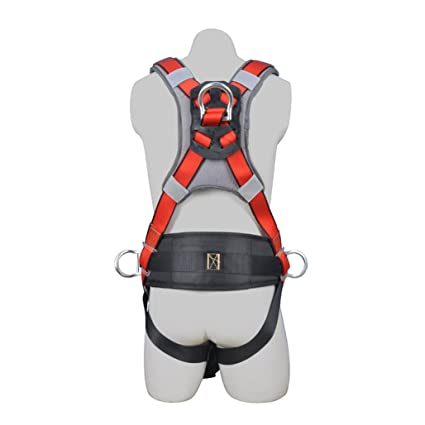 51WCJcpintL._SX425_ aoneky construction fall protection safety harness with body belt
