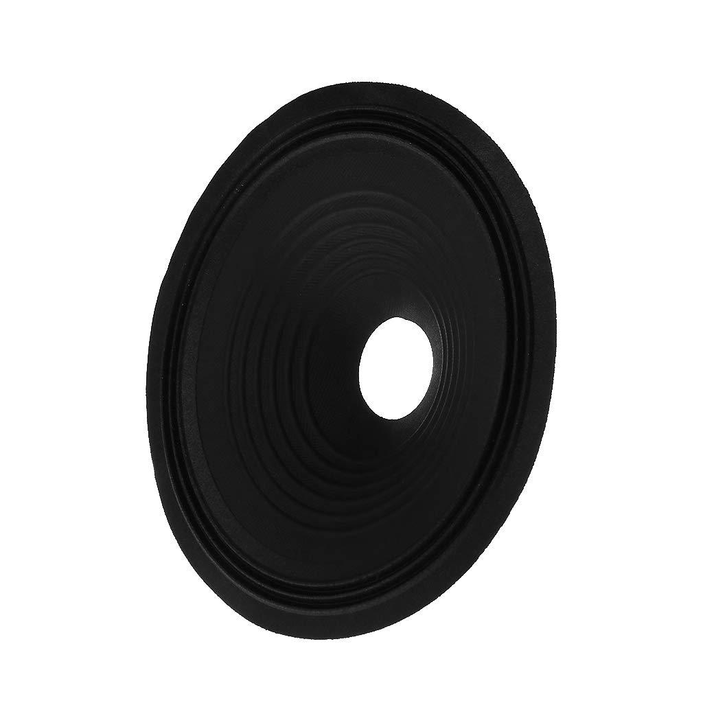 "Speaker Paper 8/"" Cone Basin Drum 3 Fold Line Cloth Side Core Woofer Accessories"