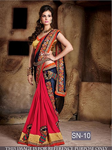 Delisa-Fashion-Ethnic-Designer-Bollywood-Party-Wear-Pakistani-Indian-Saree-sn-10