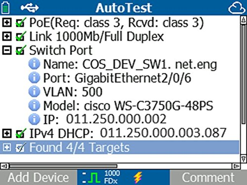 NETSCOUT LRAT-1000 LinkRunner AT Copper Ethernet Network Tester by NETSCOUT (Image #5)