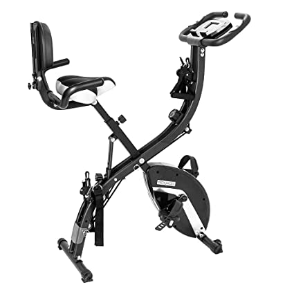 6b378d63c9e PEXMOR Foldable Exercise Bike, 3 in 1 Magnetic Resistance Upright Bicycle, Folding  Stationary Bike for Cardio Workout & Strength Training Fitness (300 Lb ...