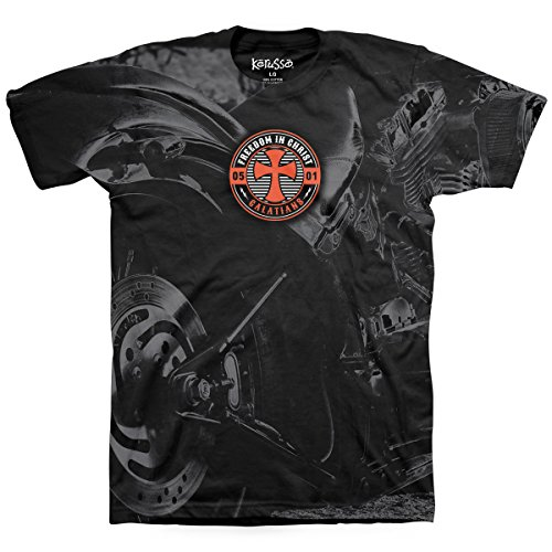 Christian Motorcycle T-shirts - Kerusso Motorcycle Adult T-Shirt-2X-Large - Christian Fashion Gifts