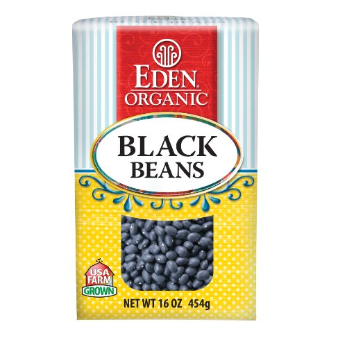Eden Organic Black Beans, 16-Ounce Boxes (Pack of 6)