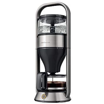 Máquina de café con filtro de café, 1 litro, cafetera de acero inoxidable cepillado: Amazon.es: Hogar