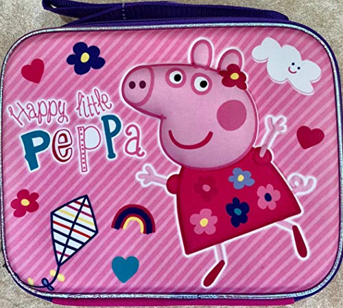 Peppa Pig 3-D Insulated Reusable Lunch Bag for Girls(+3 years)