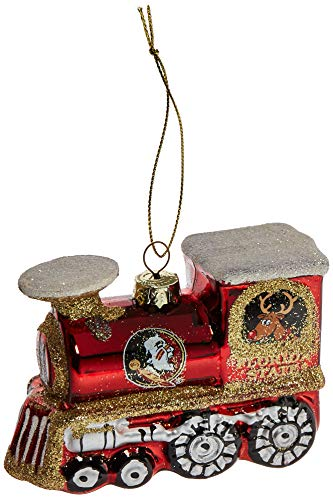 (NCAA Florida State Seminoles Train Ornament)