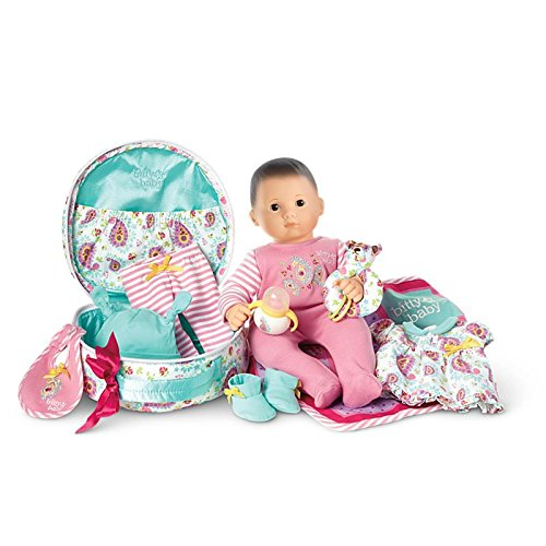 American Girl - Bitty Baby Doll + Special Starter Collection - Light Skin, Brown Hair, Brown Eyes. by frozen