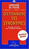 Dictionnaire des Synonymes, , 2035320860