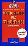 Dictionnaire des synonymes par Collectif