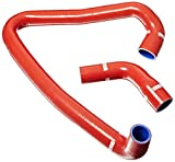 Venair (600001060377-RD) 2-Piece Coolant Silicone Hose Set, Red