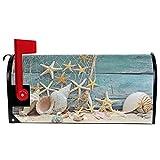 Wamika Welcome Summer Sea Shells Starfish on Blue