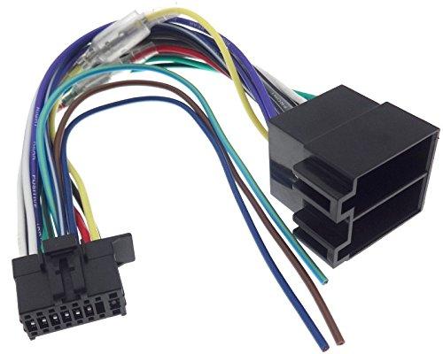Radio Conector Kenwood JVC KDC KMM ddx-3021/Auto Radio ISO cable adaptador conector Cable